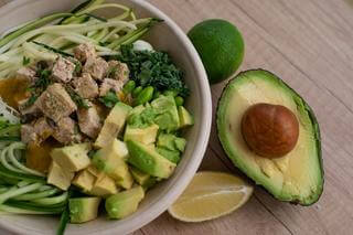 avocado salad healthy foods stress management